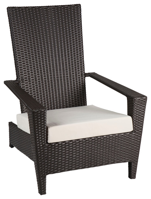 Stackable Outdoor Chairs with Adirondack Chairs All Weather Wicker Patio Modern Outdoor Furniture