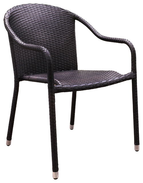 Stackable Outdoor Chairswith 4