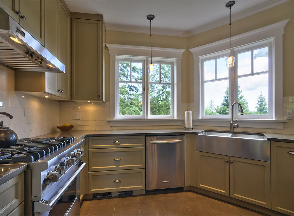 stainless steel farmhouse sink kitchen with apron sink farmhouse sink floor tile kitchen