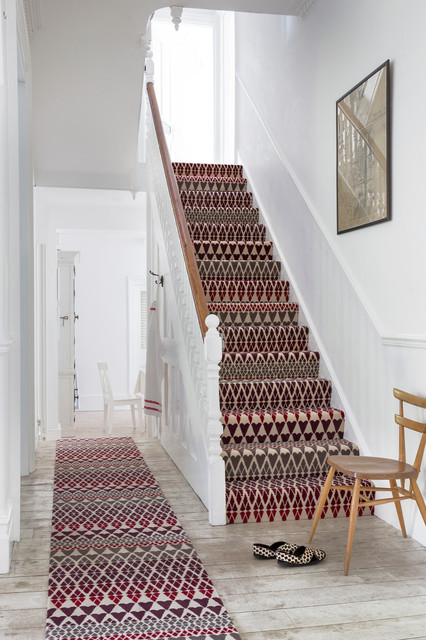Stair Carpet Runner Staircase Traditional with Colour Hallway Pattern Patterned Carpet Rug Runner Stair Runner