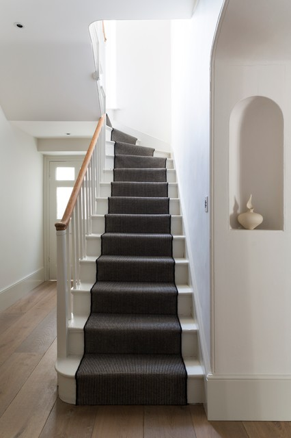 Stair Carpet Runner Staircase Victorian with Black and White Entry Niche Stair Runner Staircase Staircase