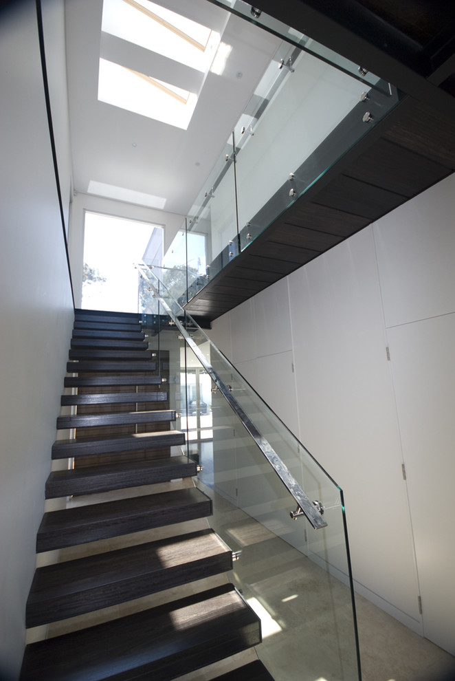 Stair Handrail Staircase Modern with Floating Staircase Glass Guardrail Glass Railing Minimal