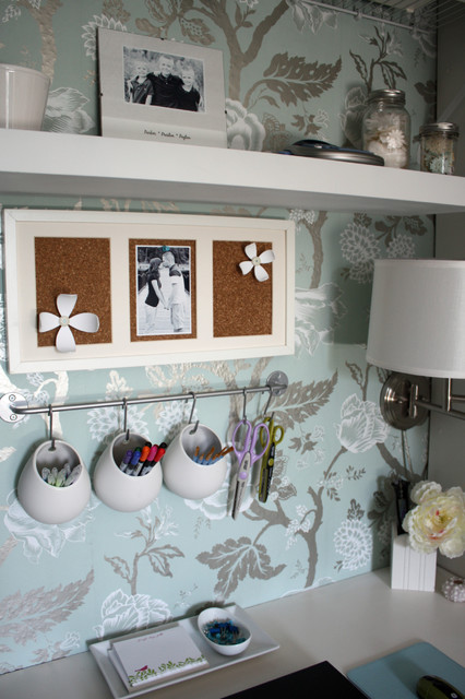 suction cup hooks Home Office Traditional with bulletin board floating shelves organization sconce storage wall art