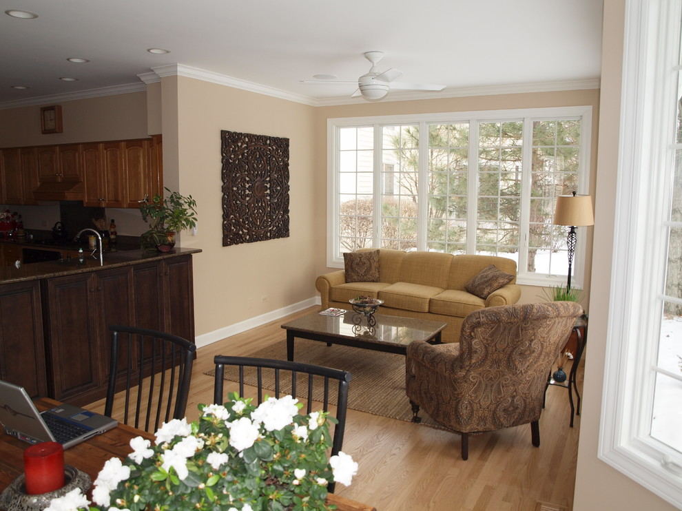 Sunroom Addition Family Room Traditional with Addition Award Award Winning Cabinetry Dining Room