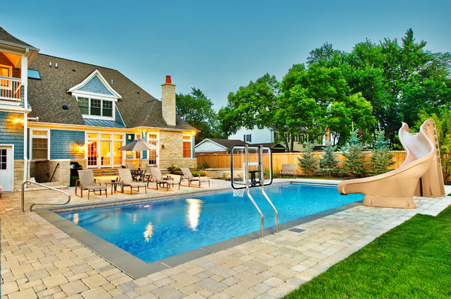 swimming pool basketball hoop Pool Traditional with aquascape chicago pool construction of swimming pool Deerfield geometric