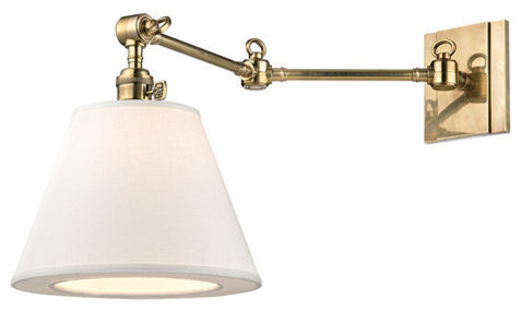 Swing Arm Wall Sconce with Hudson Valley Lighting