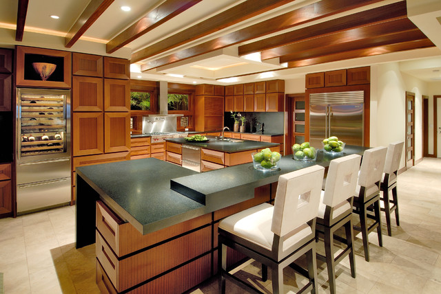 Swivel Counter Stools Kitchen Contemporary with Beams Black Counters Counter Stools Custom Wood Cabinets Frosted