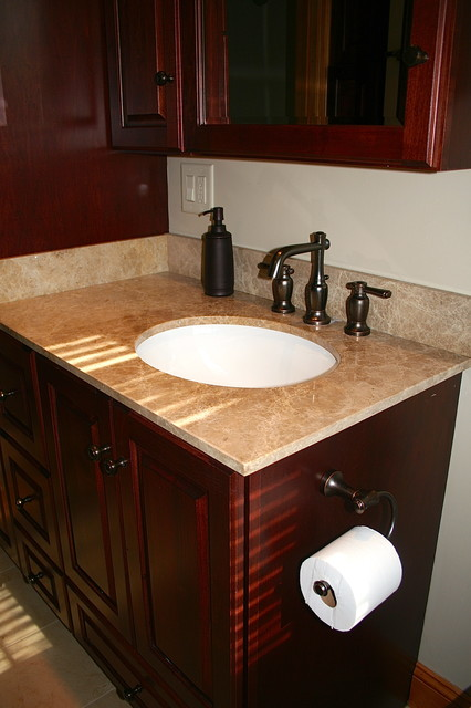 symmons-faucets-Bathroom-Traditional-with-custom-mirror-Cypress ...
