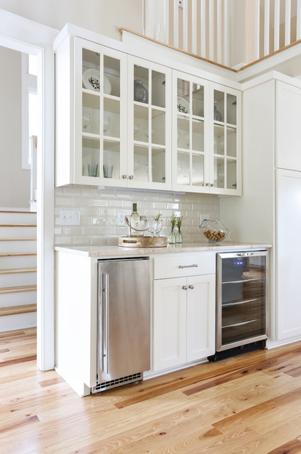 Tabletop Ice Maker Home Bar Beach with Beach Beige Countertop Classic Coastal Remodel Under Counter Refrigerator
