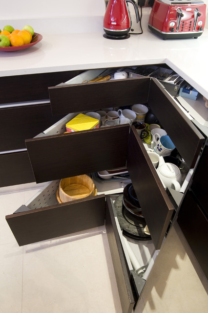 Tabletop Lazy Susan Kitchen Contemporary with Corner Cabinet Corner Drawers Storage Solution