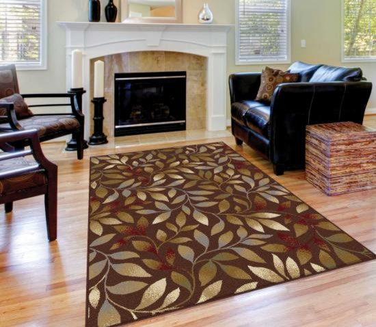 Tayse Rugs Es Traditional With Area Botanical Print Living Room Orugso Rug