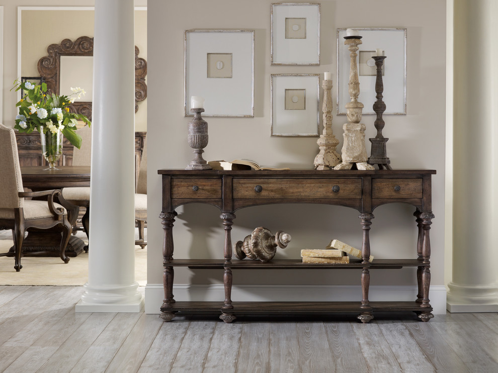 Thin Console Table Spaces Traditional with Console Table Hooker Furniture Quality Furniture Thin