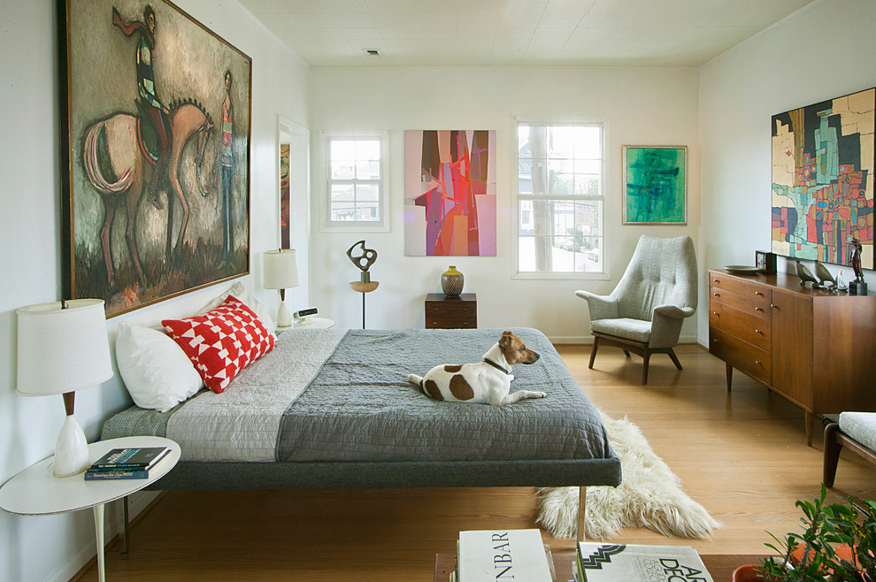 thomasville bedroom furniture Bedroom Midcentury with Adrian Pearsall armchair Art bed bed pillows