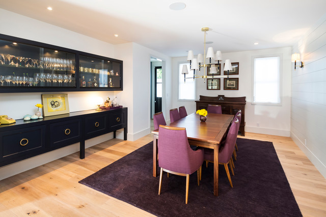 Tiered Server Dining Room Transitional with Area Rug Bar Bar Area Black Buffet Black Sideboard
