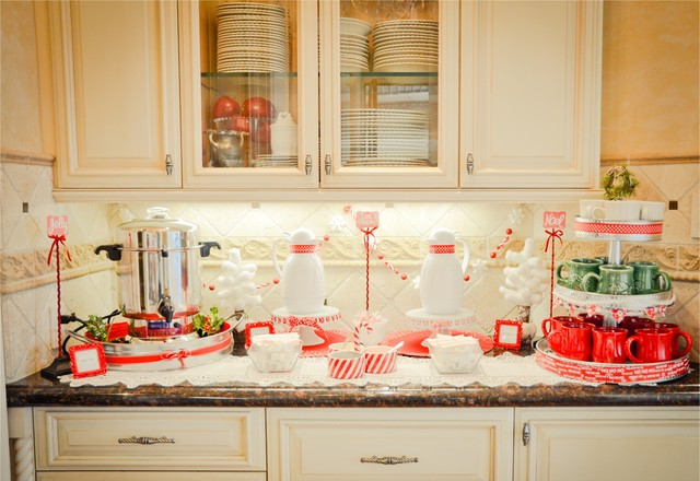 Tiered Server Kitchen Traditionalwith Categorykitchenstyletraditional