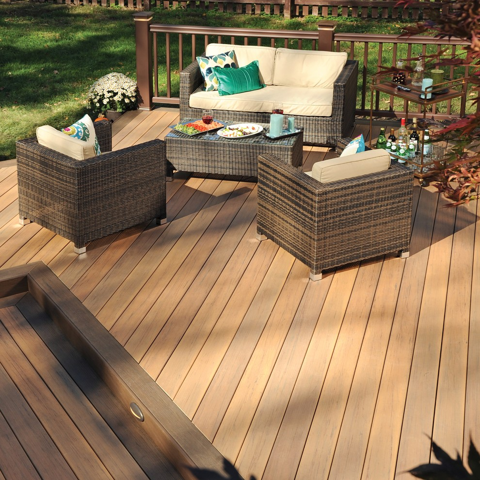 Tigerwood Decking Deck Traditional with Categorydeckstyletraditionallocationunited States