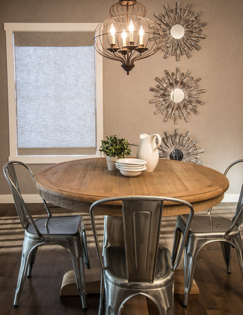 Tolix Chairs Dining Room Rustic With Driftwood French Cafe Chairs  Modern Rustic Onion Shaped Chandelier