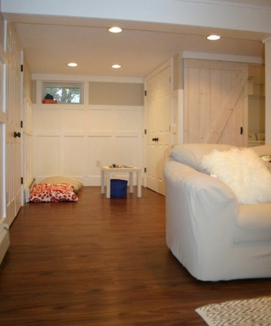 Trafficmaster Allure Ultra Basement Traditional with Playroom in Basement