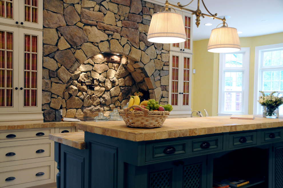 Travertine Countertops Kitchen Traditional with Ceiling Lighting Island Lighting Kitchen Hardware Kitchen