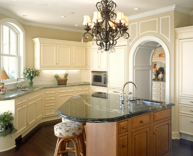 Triangle Pest Control Kitchen Traditional with Arch Arch Entry Arched Window Archway Bar Stools Barstools