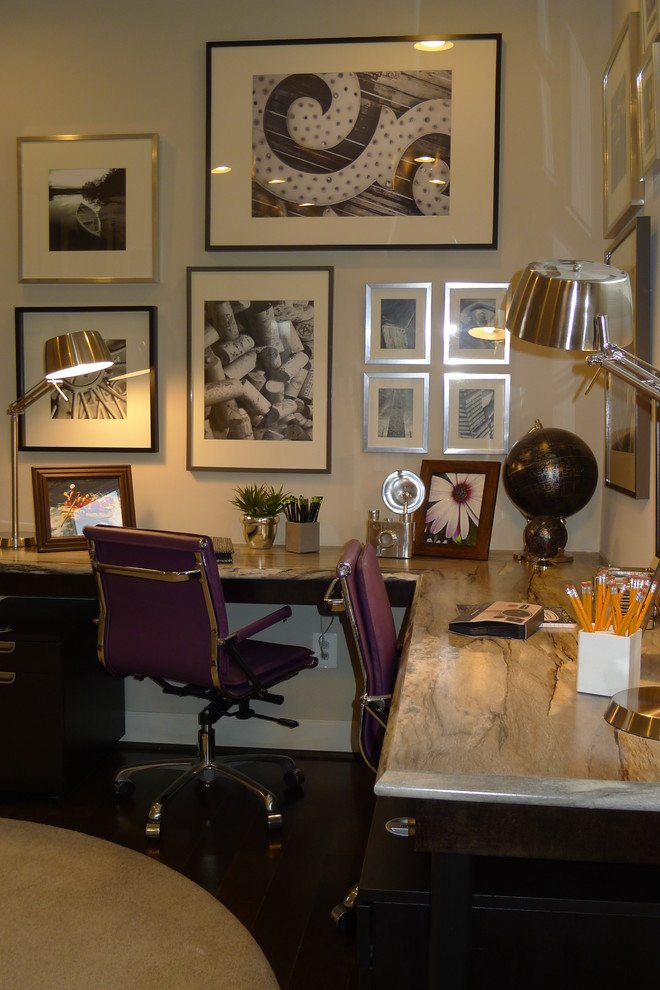 Tribecca Home Home Office Traditional with Categoryhome Officestyletraditionallocationdc Metro