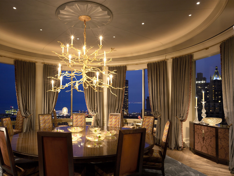 Twig Chandelier Dining Room Traditional with Accent Ceiling Ceiling Lighting Ceiling Medallion Ceiling