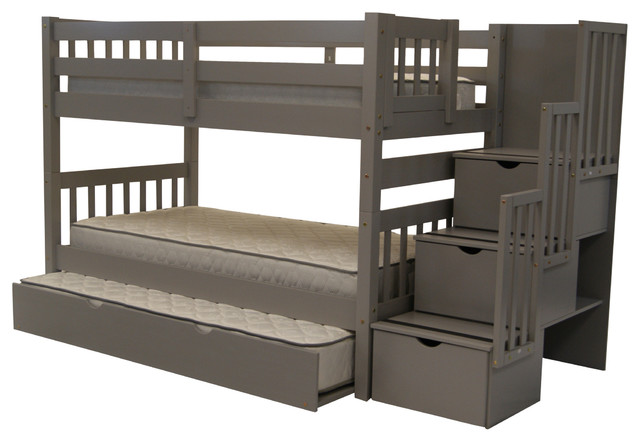 Twin Beds with Trundlewith 5