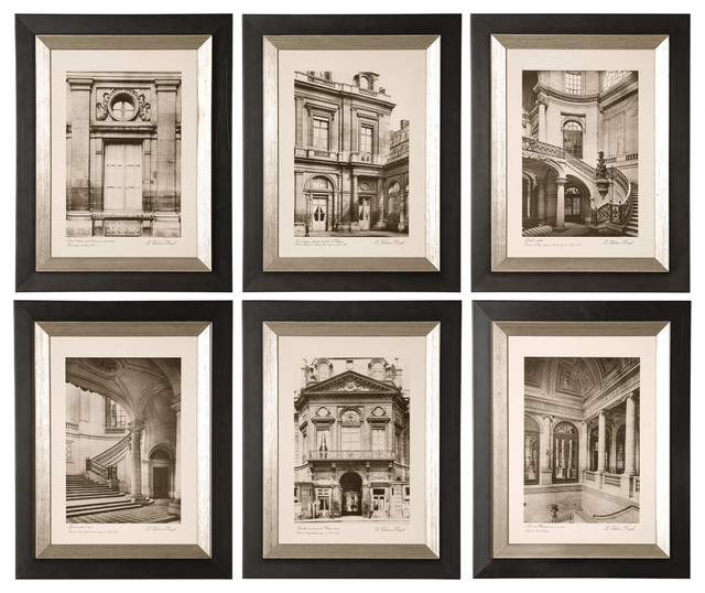 Uttermost Art with Architectural Photography Prints Bedroom Decor Black and White Decor
