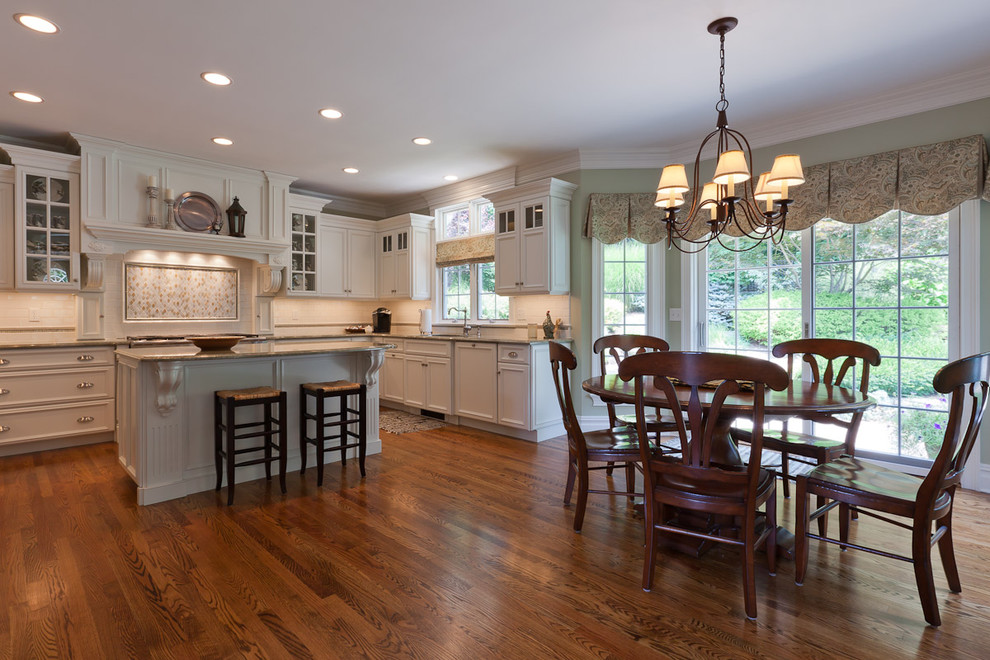 Valance Patterns Kitchen Traditional with Breakfast Bar Ceiling Lighting Cherry Cabinets Crown