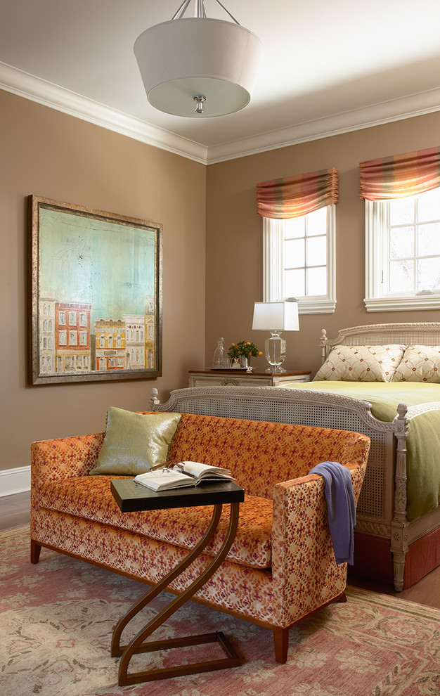 Valance Styles Bedroom Traditional with Area Rug Art Caned Bed Classic Taupe