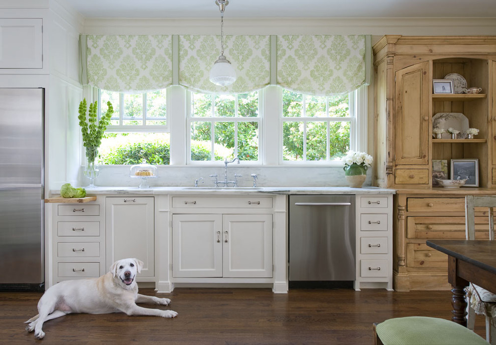Valance Styles Kitchen Traditional with Antique Antique Furniture Antique Lighting Balloon Shades