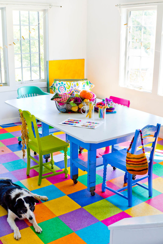 colorful floor tile - Colored Floor Tiles