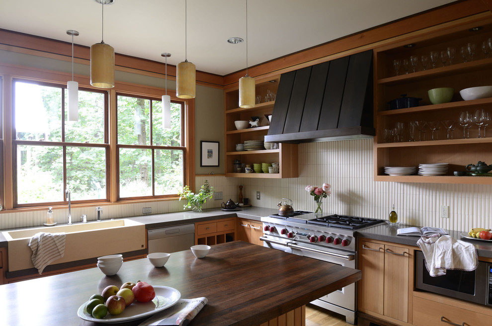 Ventahood Kitchen Contemporary with Apron Sink Country Kitchen Custom Metal Hood