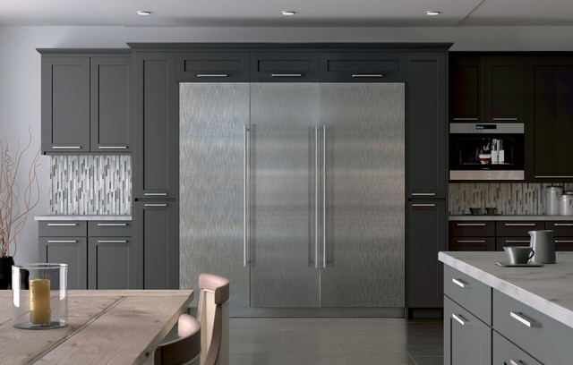 Vertical Blinds for Sliding Glass Doors Kitchen Contemporary with Categorykitchenstylecontemporarylocationunited States