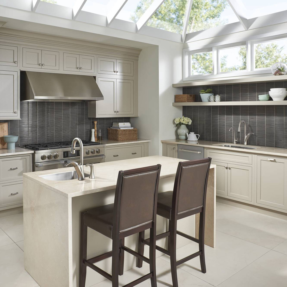 Vinyl Plank Flooring Reviews Kitchen Contemporarywith Categorykitchenstylecontemporary
