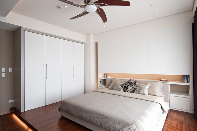 Wardrobe Closet Armoire Bedroom Contemporary with Bedroom Built in Nightstand Ceiling Fan Closet Cove Lighting Fan