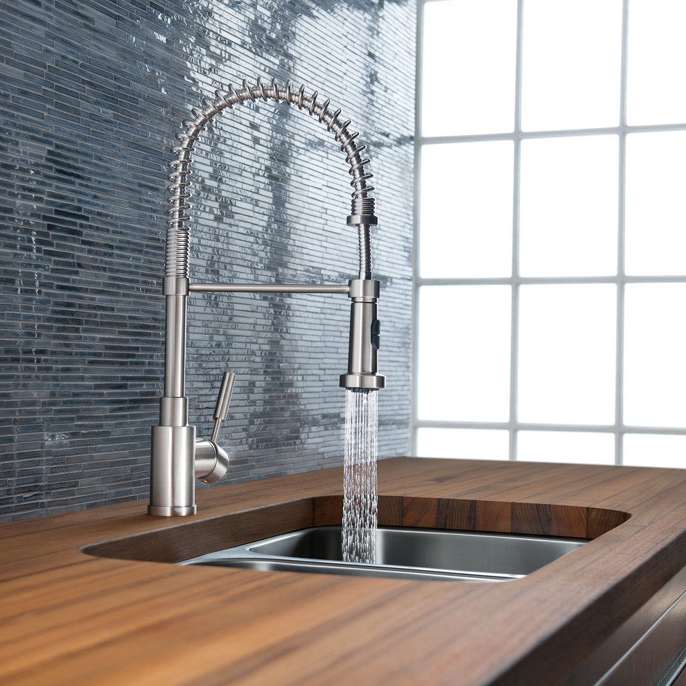 Waterfall Faucets Kitchen Modernwith Categorykitchenstylemodern