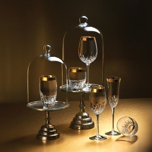 Waterford Crystal Champagne Flutes Home Bar Contemporary with Crystal Designer Essence Gift Ideas Gifts Gold Holiday Gift