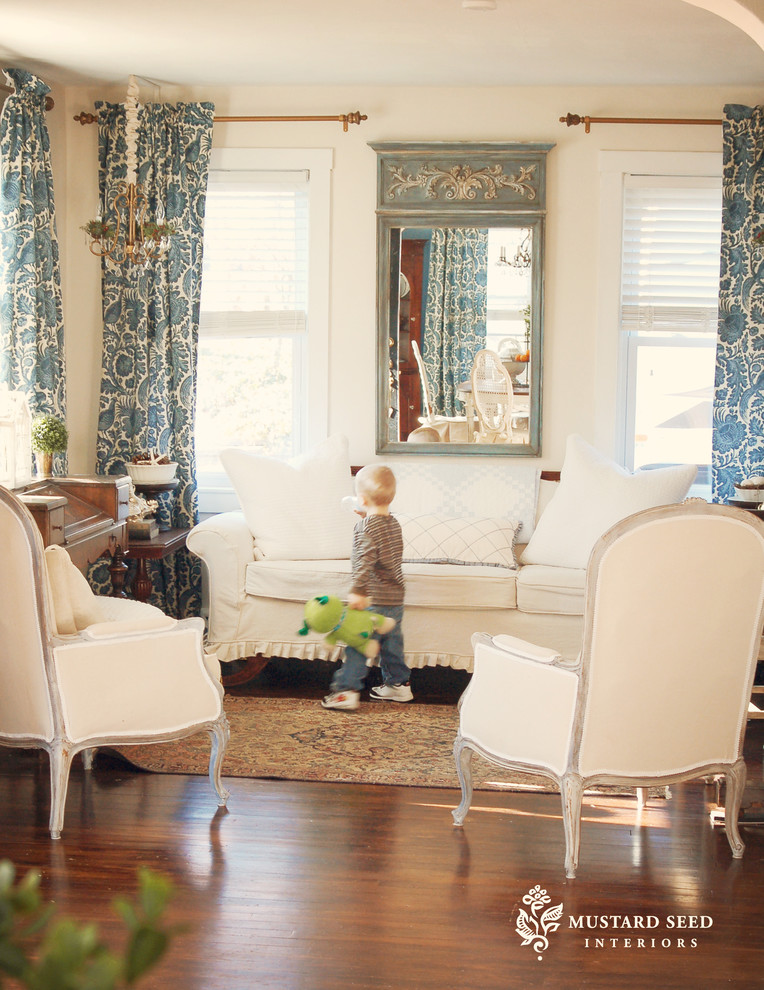 Waverly Curtains Living Room Traditional with Antiques Area Rug Bergre Chair Chandelier Curtains