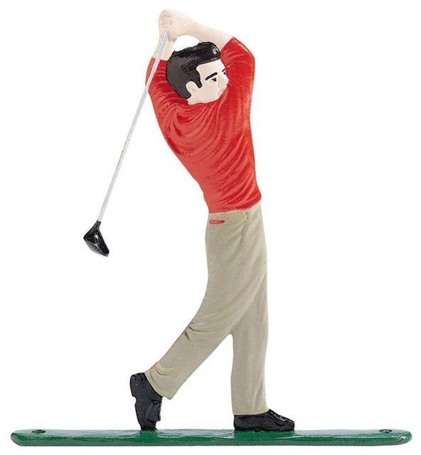 Whitehall Mailboxessold Byhayneedle Mailboxes Contemporarywith Sold Byhayneedlecategorymailboxesstylecontemporary Mailbox Ornament Golfer 01167 Contemporary Mailboxes