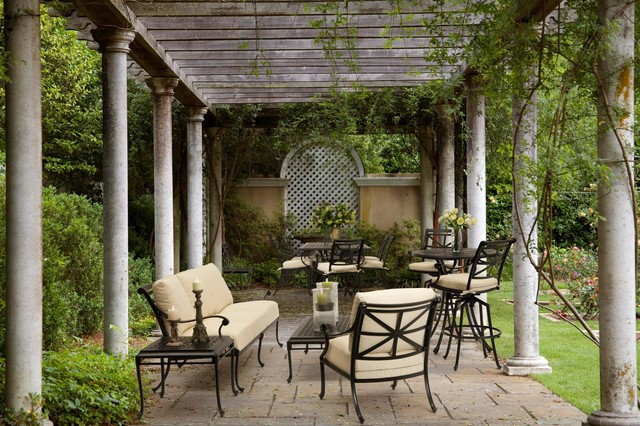wildon home furniture Patio Traditional with arch black metal outdoor furniture black metal patio furniture