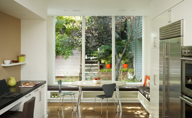 Window Film Lowes Kitchen Transitional with Banquette Built in Seating Dining Bench Eat in Kitchen