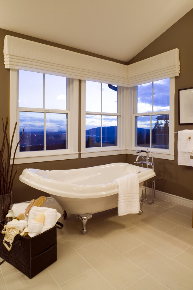 window-valance-ideas-Bathroom-Contemporary-with-angled-ceiling ...