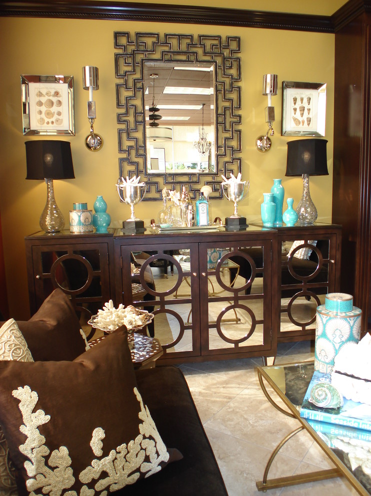 Wine Credenza Living Room Contemporary with Brown Buffet Chocolate Circles Console Coral Greek