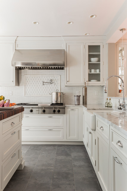 Wolf Cooktops Kitchen Traditional with Butt Hinges Columns on Island End Grain Rosewood Farmhouse