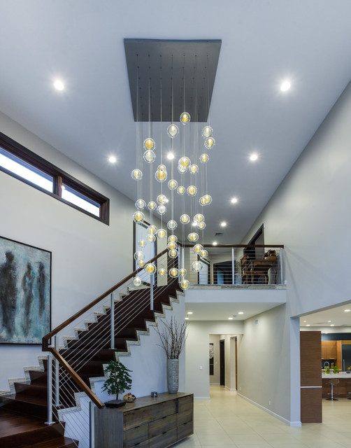 Wood Balusters Staircase Modern with Categorystaircasestylemodernlocationnew York