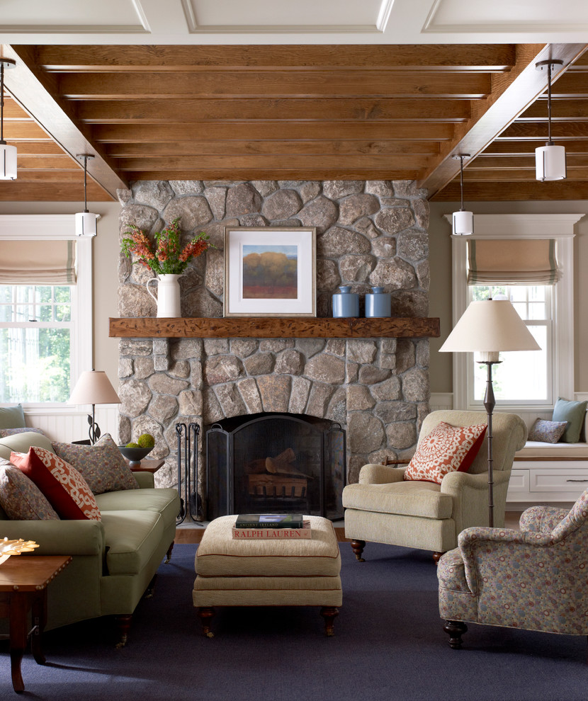 wood fireplace mantels living room victorian with art above