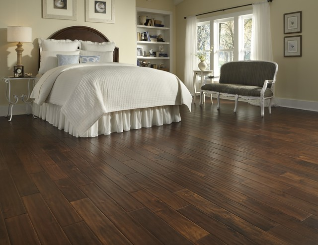 Wood Floor Refinishing Cost Bedroom Traditional With