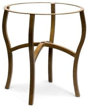 Woodard Furniture with Curved Leg Table Base