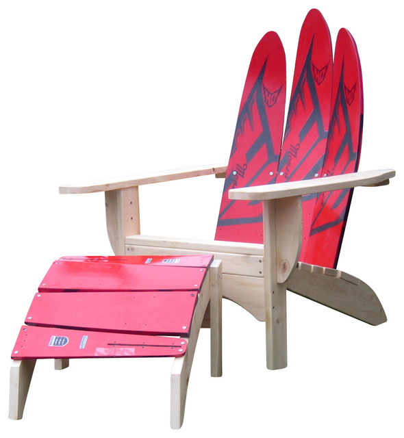 Wooden Adirondack Chairs with Accent Chair Bedroom Furniture Creative Custom Made Handmade Living1